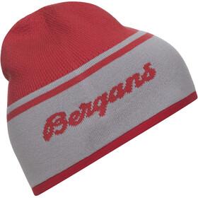 Bergans Seamless Gorro, rojo/gris